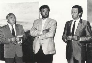 """Cultureel Centrum van de Luchtmacht """"Oasis"""" te Sint-Stevens-Woluwe, inleiding door Hugo Weckx en Hugo Brutin."""
