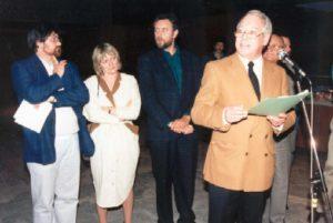 Jean Fetz, Brigiet, en inleiding door Michel Myttenaere in Luxemburg, April 1988, in de stadsschouwburg.