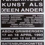 1993 Catalogue expo dans l'Abbaye de Grimbergen