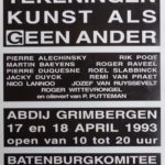 1993 Catalogus expo in Abdij Grimbergen