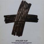 1993 Catalogus expo in Atelier Vijf in Antwerpen