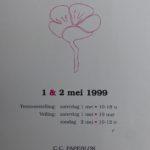 1999 Catalogue Kunstveiling au C.C. Papeblok à Tervuren