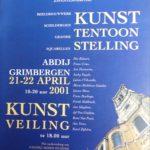 2001 Catalogus expo in Abdij Grimbergen