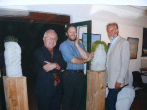 Walter CAPIAU en Peter VERMANDERE expo in Koksijde