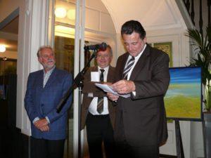 Inleiding door Jean-Luc VANRAES en Walter VANDENBOSSCHE in de Zetel vd Raad vd Vlaamse Gemeenschapscommissie te Brussel