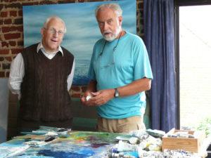 2009 BURGGRAEVE Roger prof.dr.em. KU Leuven in atelier