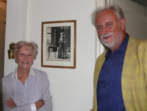 2012 08 25  At home with daughter of  painter Albert Servaes in St. Martens-Latem