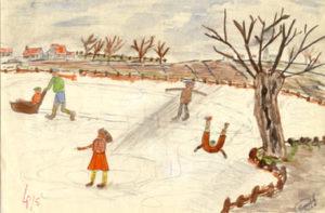 Schaatsers (Skaters)1958 (11 years)