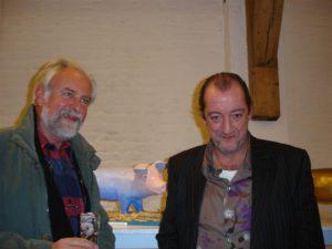 Met Josse De Pauw bij project in St.-Kwintens-Lennik