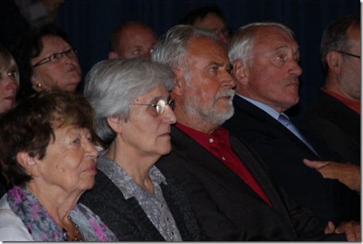 Paul VAN HIMST, Jacky DUYCK, Sister Lutgardis CRAEYNEST, Alice TOEN and Jos MERTENS