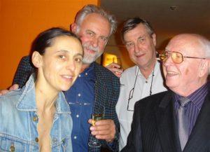 Anne Teresa De Keersmaeker, Ivo Goris en Hugo Weckx