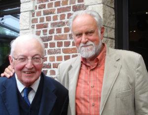 Samen met baron Fons MARGOT 21 07 2011