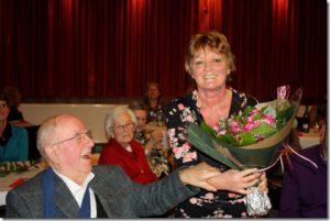 Poëzieavond voor Phil BOSMANS in Kontich door Brigiet TYTECA op 12 december 2011
