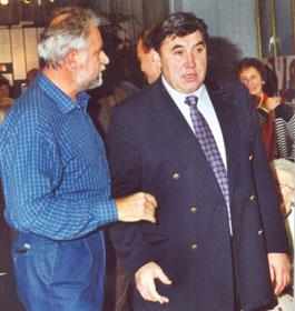 Eddy Merckx, November 2000.