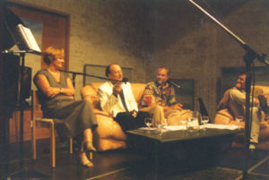 Concert given by François Glorieux (piano), Nic Ost (euphonium), Brigiet Tyteca (poetry), Jacky and Frank Dingenen (presentation and interview) on the 27th of June 1998 in the Abbey-Farm of Koksijde.