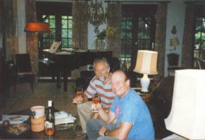 Au domicile de François Glorieux, 1998.
