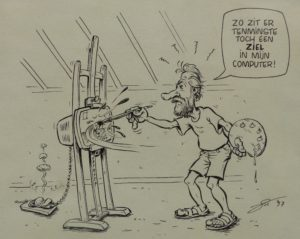 Cartoon v Luc De Maeyer