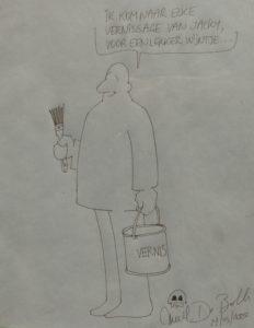 Cartoon d'Emiel De Bolle pour Jacky