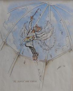 Cartoon van Luc De Maeyer