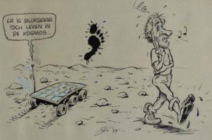 Cartoon pour Jacky de Luc De Maeyer 1997