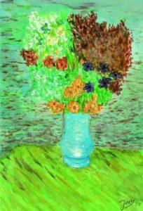Naar V. Van Gogh 1963 (16jaar)