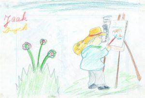 Le peintre 1953 (6 ans)