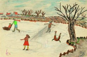 Patineurs 1958 (11 ans)