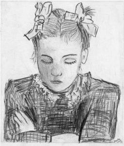 Etude d'après Picasso 1964