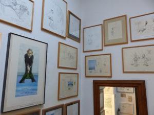 Expo dans l'atelier des dessins animés (1)