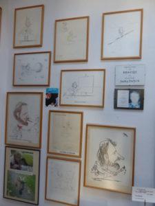 Expo dans l'atelier des dessins animés (2)