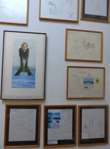Expo in atelier van originele cartoons (3)