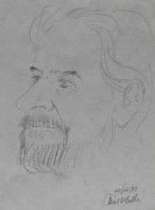 Caricature d'Emiel De Bolle 1997