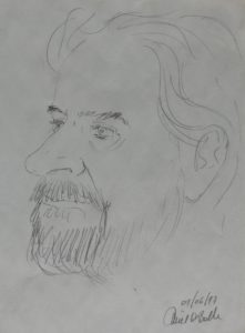 Karikatuur van Emiel De Bolle 1997