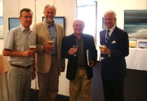 Casino van Middelkerke, met Michel Landuyt (Burgemeester), Walter Capiau & Domi De Wilde (Directeur)