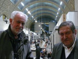 Ensemble avec Etienne Vermeersch à Paris au Musée d'Orsay (2)