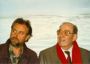Samen met mecenas en kunstverzamelaar Emiel De Smet