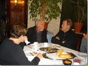 En compagnie de l'acteur René VERETH  le 25 janvier 2012